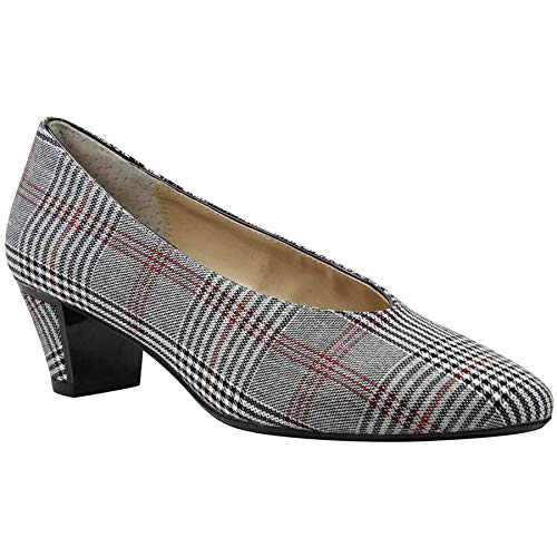 J. Renee Women's Clarion Black/White/Red 11 W US W (C)
