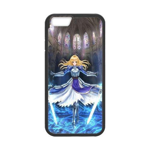 Fate Stay Night 016 coque iPhone 6 Plus 5.5 Inch Housse téléphone Noir de couverture de cas coque EOKXLLNCD12823
