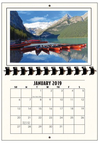Amazon photographers edge 2019 photo mount wall calendars photographers edge 2019 photo mount wall calendars for horizontal 4x6 photos solutioingenieria Image collections