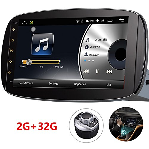"Android 7.1 9"" Car DVD Player Stereo Radio GPS Navigation Bl"