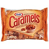 Kraft, Vanilla Caramels, Individually Wrapped, 11oz Bag (Pack of 4)