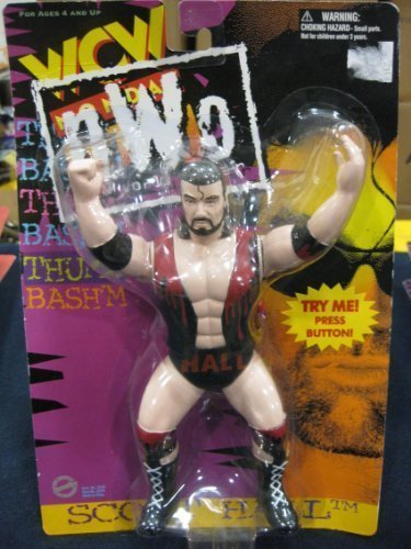WCW Scott Hall - Razor Ramone NWO Wrestling Action Figure WWE WWF