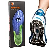 Sof Sole Airr Gel Shoe Inserts Arch Support Shock Absorbing Breathable Walking Running Shoe Insoles