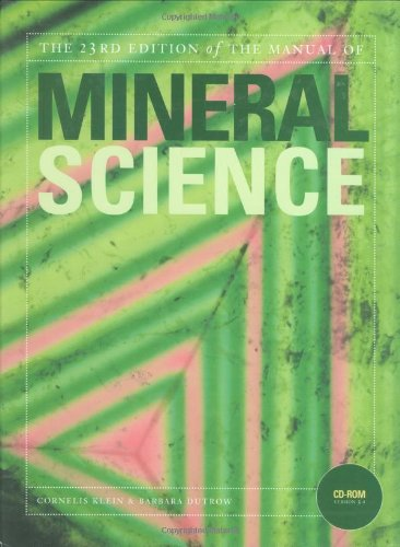 Manual Of Mineral Science 2