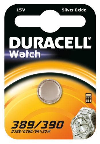 1x Duracell 389/390 1.5V Silver Oxide watch battery SR54 SR1130 D389 V389 V390 D390 SR1130W