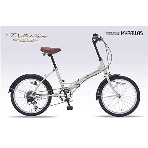 MYPALLAS(マイパラス) 折畳自転車206SP M-209 アイボリー B07CYT4DXX