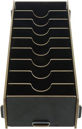 VANKOA Caja de Madera para Tarjetas de Visita, Caja para Cartas, 285 x 110 x 60 mm: Amazon.es: Hogar