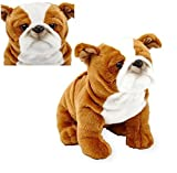 toy for english bulldog - Toys R Us Exclusive Plush - 10.5 Inch ENGLISH BULLDOG - His Adorably Realistic Face is Sure to Melt Your Heart!