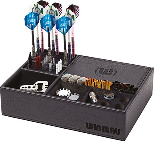Winmau fléchettes sport accessoire équipement rangement Fléchette MOYEU BOITE Only 27cmx20cmx7cm Only Sportsgear