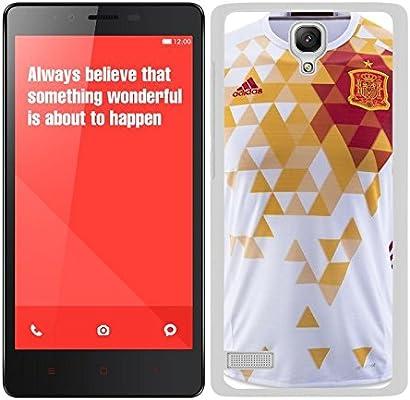 Funda carcasa para Xiaomi Redmi NOTE diseño camiseta España ...