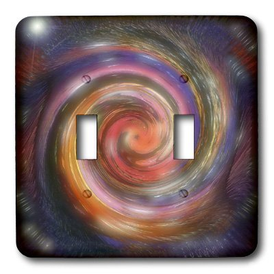 lsp_4072_2 Cindy Thorrington Haggerty Kaleido Mandela - Halloween Magic Spell - Light Switch Covers - double toggle -