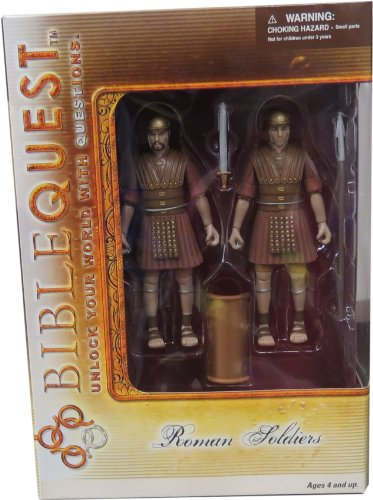 BIBLEQUEST Roman Soldiers (Biblical Character Costumes)