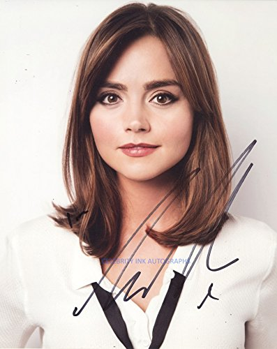 JENNA COLEMAN as Clara Oswald - Doctor Who GENUINE AUTOGRAPH