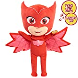 Just Play PJ Masks Sing & Talk Plush Owlette, Red
