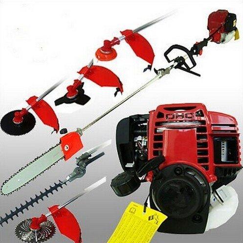 GOWE 4 strokes Multifunction brush cutter Petrol Grass Trimmer, Brush/Bush Cutter Whipper Snipper 6 in 1