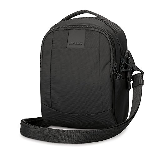 Pacsafe Metrosafe LS100 Anti-Theft Cross-Body Bag, Black by Pacsafe