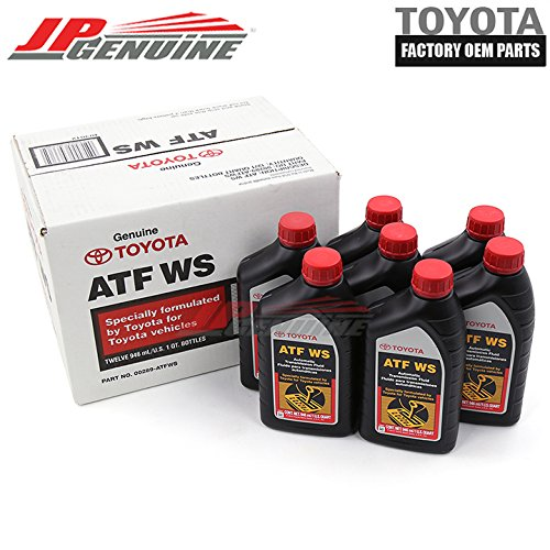 Genuine Toyota Atf Automatic Transmission Oil Fluid Atfws Lexus Scion X 7Qt by Toyota