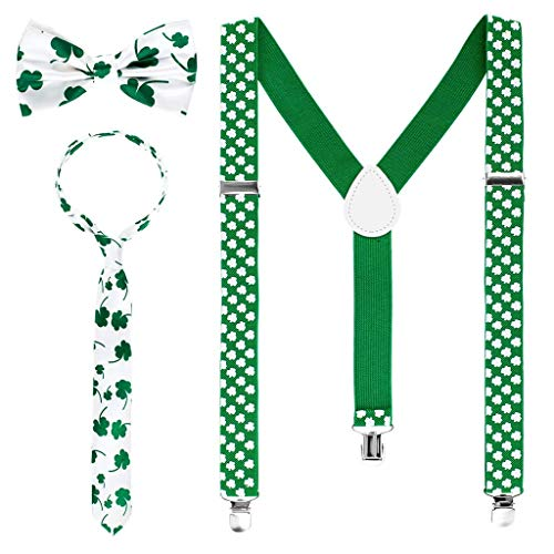 with St. Patrick's Day Suspenders design