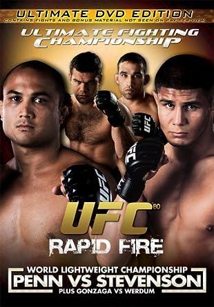 Ufc 80: Rapid Fire DVD 2008 Region 1 US Import NTSC: Amazon