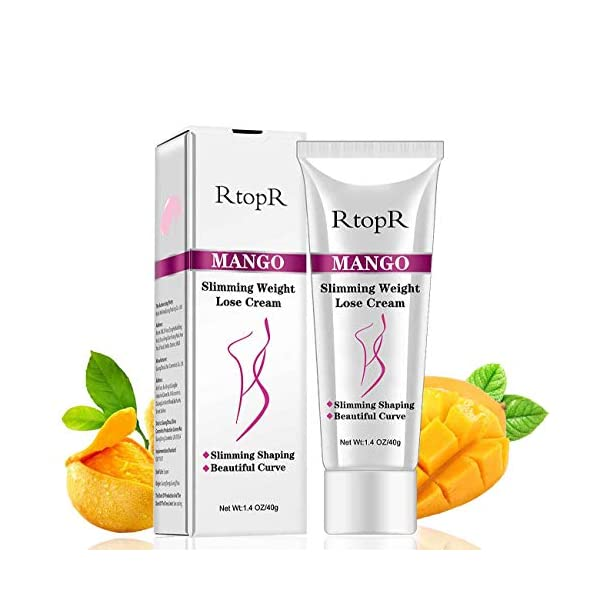 Slimming Cream for Tummy, Abdomen, Belly and Waist – Firming Cream – Hot Cream for Weight Loss – Anti Cellulite Cream And Stomach Fat Burner – Natural Ingredients (Mango) 51A 2BXxSJBWL