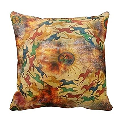 Amazon Decorative Pillow Case Native American Indian Throw Enchanting Native American Decorative Pillows