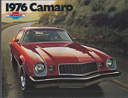 1976 Chevrolet Camaro sales brochure Sport Coupe Type LT Rally (Camaro Sales Brochure)