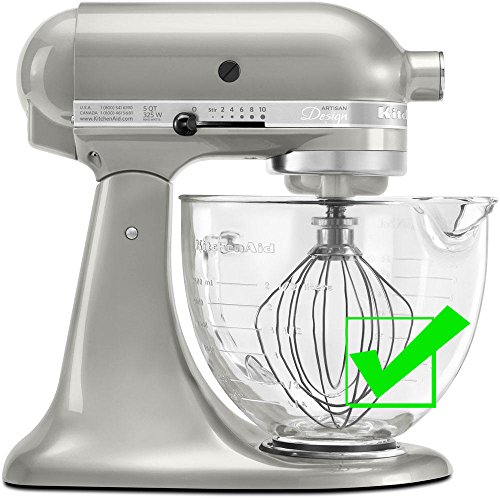 SideSwipe flex edge beater for KitchenAid Tilt-Head Mixers, in Red by SideSwipe (Image #4)