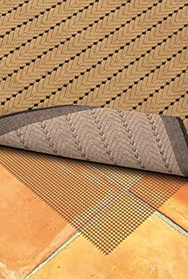 Sphinx Outdoor Non-Slip Area Rug Pad 0007C Brown