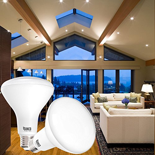 Sunco Lighting 6 Pack BR30 LED Light Bulb 11 Watt (65 Equivalent) Flood Dimmable 3000K Kelvin Warm White 850 Lumens Indoor/Outdoor 25000 Hrs For Use In Home, Office And More UL & ENERGY STAR LISTED by Sunco Lighting (Image #7)