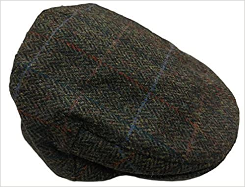 540678a71472a John Hanly   Co. Irish Tweed Flat Cap (XL (7 5 8)