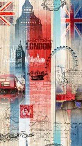 Mink Emotions - London England British Union Jack Luxury Throw Sherpa Blanket