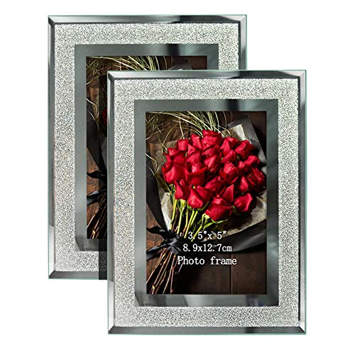 Giftgarden Family Double Picture Frame 3.5x5-Inch Black