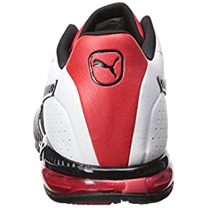 PUMA Men's Cell Surin 2.0 FM Sneaker, White Black, 13 M US