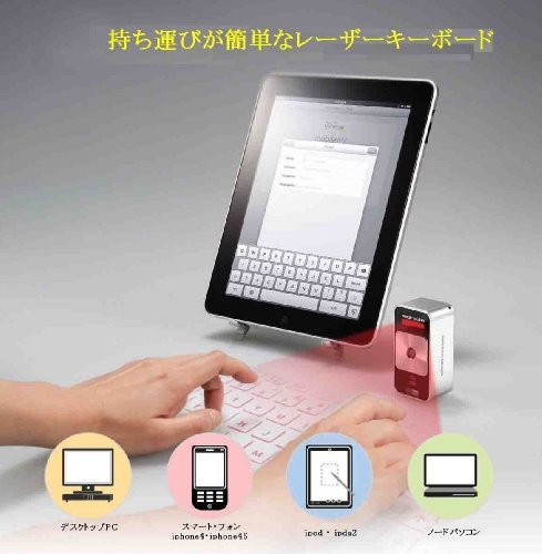 Celluon Magic Cube Wireless Projection Keyboard
