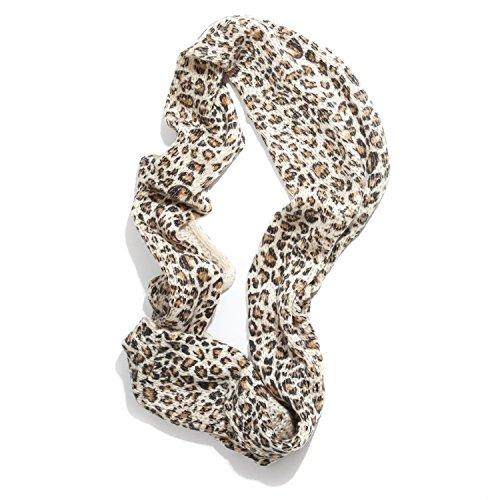 una in da Sciarpa Leopard Sweet Snood vasta marroni donna gamma di disponibile stampa Accessoryo colori qwUCzxT8x