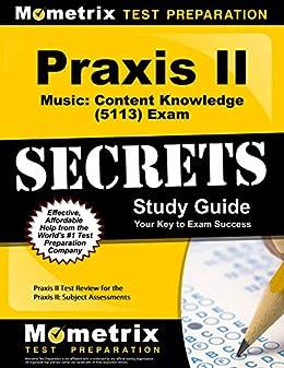 Amazon.com: Praxis II Music: Content Knowledge (5113) Exam ...