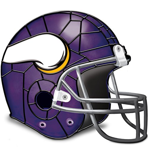 Minnesota Vikings Football Helmet Accent Lamp With Logo by The Bradford Exchange