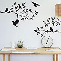 Niome Tree Bird Removable Wall Sticker Vinyl Art Decal Mural Home Room DIY Decor