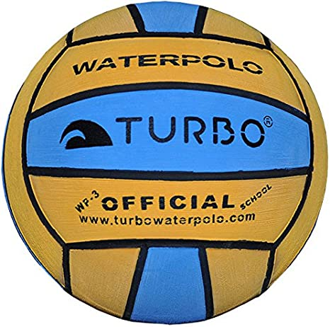 Turbo - Balón de Waterpolo Infantil (Talla 3), Color Amarillo y ...
