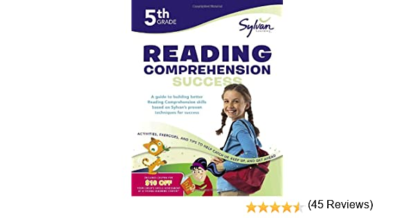 Fifth Grade Reading Comprehension Success (Sylvan Workbooks ...