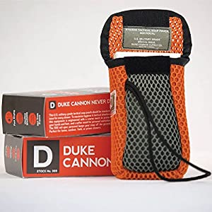 Duke Cannon Tactical Soap On a Rope Pouch, 10 Ounce