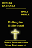 O Novo Testamento da Bíblia Bílingüe [Português-Ínglês] Com Índice Ativo