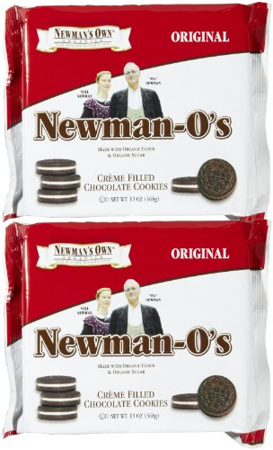 Newmans Own Organic Original Chocolate Vanilla Creme Cookie, 13 oz, 2 pk
