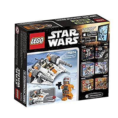 LEGO, Star Wars, Microfighters Series 2, Snow Speeder (75074): Toys & Games