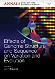 img - for Effects of Genome Structure and Sequence on the Generation of Variation and Evolution, Volume 1267 (Annals of the New York Academy of Sciences) book / textbook / text book