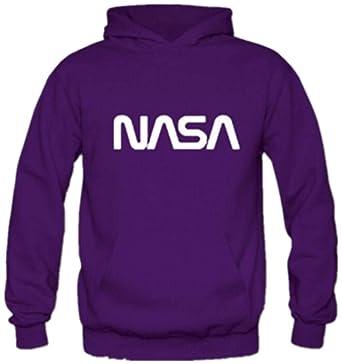 ZBSPORT NASA Impreso Solid Sudaderas con Capucha Chaqueta para Hombre: Amazon.es: Ropa y accesorios