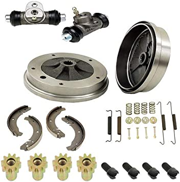Compatible With 1958 Chevrolet Chevy Front Power Disc Brake Conversion Upper /& Lower Kit Set