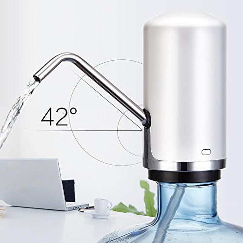 Layopo Electric Drinking Water Pump, USB Charging Universal Gallon Bottle Water Pump by Layopo (Image #1)