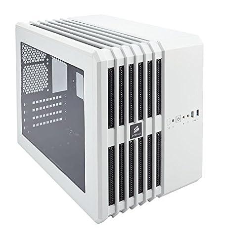 Corsair Carbide Series Air 240 High Airflow MicroATX and Mini-ITX PC Case - White (Thermaltake Core V21)