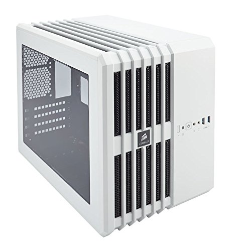 Corsair Carbide Series Air 240 High Airflow MicroATX and Mini-ITX PC Case - White